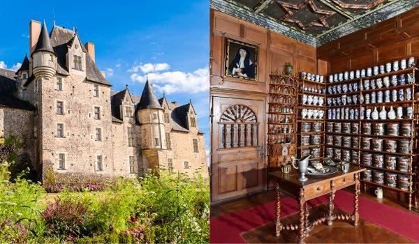Château de Baugé et l'hôtel Dieu